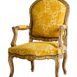 Luxury Yellow Armchair — Foto de Stock
