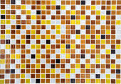 Gold ceramic mosaic background — Stockfoto
