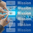 Business Mission Team — Stock Photo