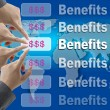 Business Benefits — Foto Stock
