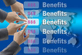 Business Benefits — Stock Photo