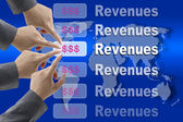 Making Revenues — Stock Photo