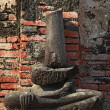 Buddha ruin - Stock Photo