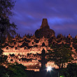 Borobudur Temple at Dusk — Foto de stock #12875012