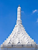 White roof of temple — Foto de Stock