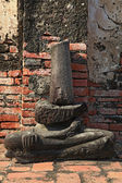 Buddha ruin — Stock Photo