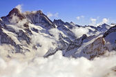 Jungfraujoch Swiss alps — Stock Photo