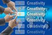 Creativity Team — Stock Photo