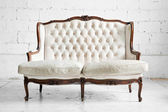 Sofa in vintage room — Stock Photo