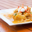Thai Chicken Red Curry — Stock Photo