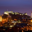 Edinburgh scotland dusk — Stock Photo
