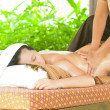 Back oil Massage Spa  — Stock Photo