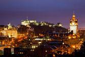 Edinburgh scotland dusk — Stock Photo