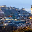 Edinburgh Skyline - Stock Photo