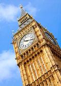 Torre del reloj big ben — Foto de Stock
