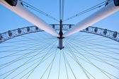 Arichitecture of London Eye — Stock Photo