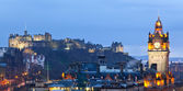 Edinburgh Panorama — Stock Photo