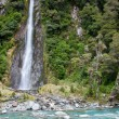 Thunder creek fall — Stock Photo