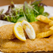 Fish and Chip — Foto Stock