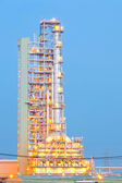 Oil Distillation tower — Stock Photo