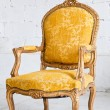 Luxury Yellow Armchair — Stock Photo #14959587