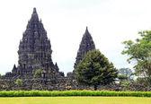 Prambanan chrám indonésie — Stock fotografie