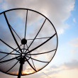 Stock Photo: Telecommunication satellite dish