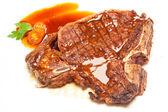 T-bone steak — Stock Photo
