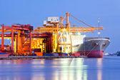 Cargo logistik — Stockfoto