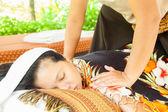 Back Massage Spa — Stock Photo