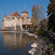 Chateau de Chillon, Montreux Switzerland — Stock Photo