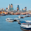 St Paul's Cathedral and River Thames — Stock Photo #16789137