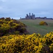 Dunstanburgh castle UK — Stock Photo