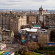 Panorama of Edinburgh Skylines building — Stock Photo