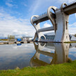 Falkirk Wheel, Scotland UK — Stock Photo