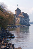 švýcarsko hrad chillon — Stock fotografie