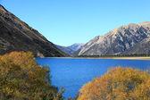 Lake pearson nieuw-zeeland — Stockfoto