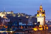 Edinburgh Castle and Skylines — Stock Photo