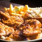 Grilled Chicken steak — Stock Photo