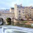 Bath Cityscape England UK - Stock Photo