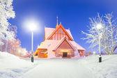 Katedra kiruna szwecja — Zdjęcie stockowe