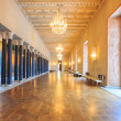 Stockholm City Hall corridor - Foto Stock