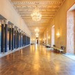Stockholm City Hall corridor - Stockfoto