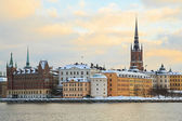 Stockholm city Sweden — Stock Photo