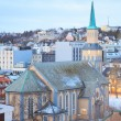Tromso Cathedral Norway — Stock Photo