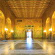 Stock Photo: Stockholm cityhall ballroom