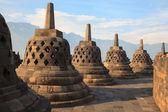 Borobudur templet indonesien — Stockfoto