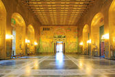 Stockholm cityhall ballroom — Stock Photo