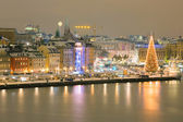 Stockholm Skyline — Stock Photo