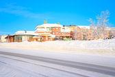 Kiruna cityscape — Stok fotoğraf